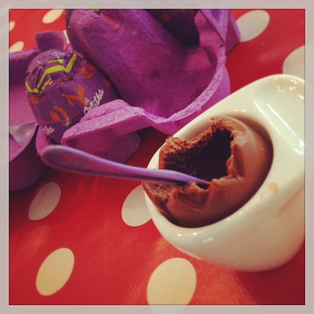 #milka chocolate #eastereggs ... disgusting, isn't it?
