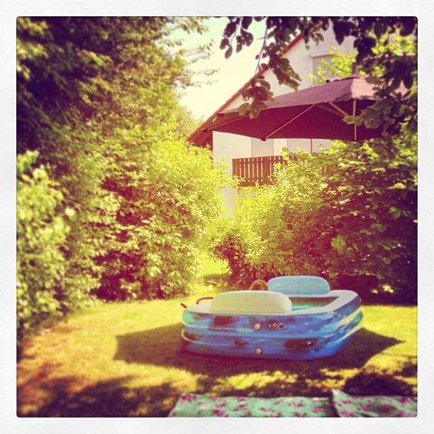 #Sommer #Sonne #Plantschbecken
