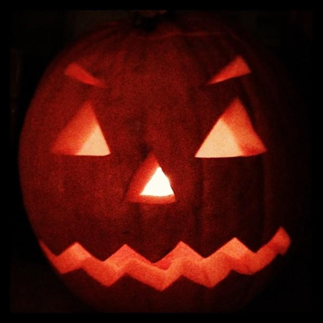 Unser neuer Türsteher... #Halloween