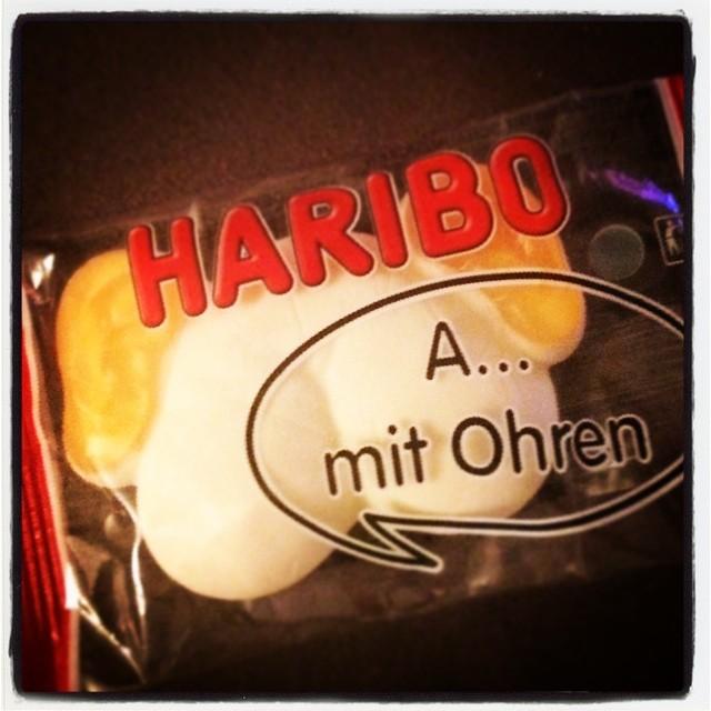 A... mit Ohren #Haribo