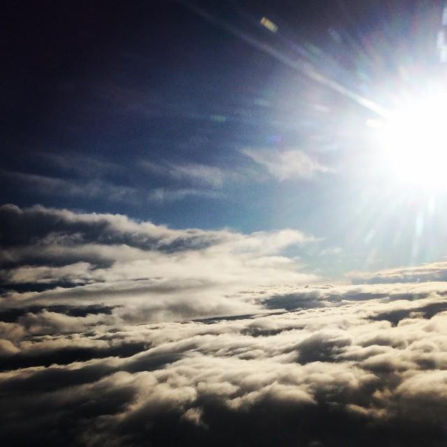 Über dem #Wolken ?