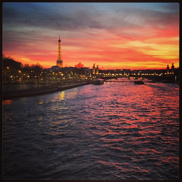 #Paris #sunset