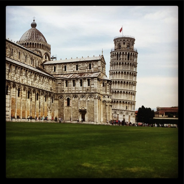 Leaning Tower of #Pisa