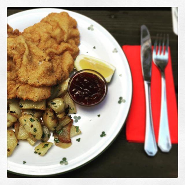 Wiener #Schnitzel in #Frankfurt