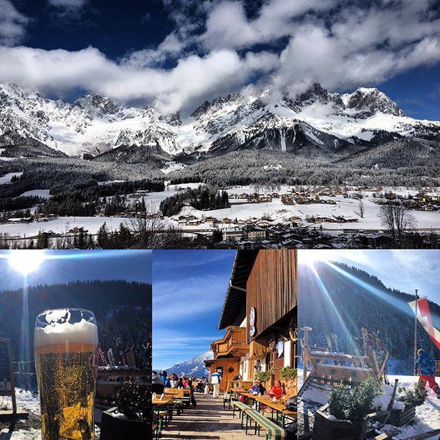 Wir hatten zwei fantastische Skitage in #Going am #WildenKaiser