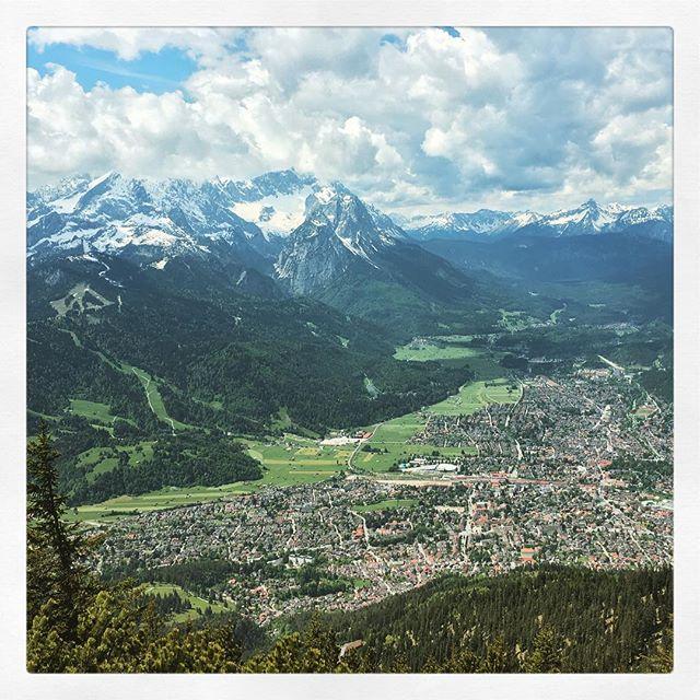#Garmisch von oben