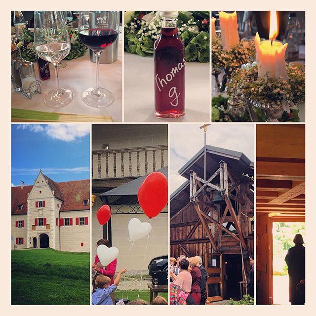 Wieder daheim... War eine sehr schöne Hochzeit auf Schloss #Grünau
