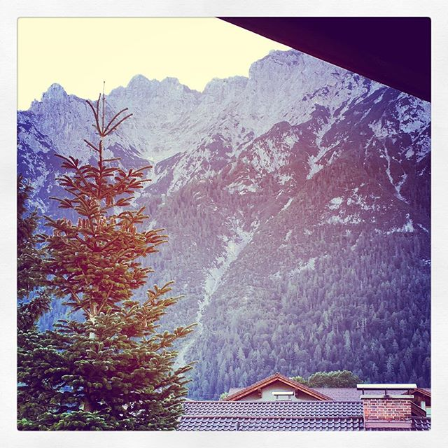 #roomwithaview #mittenwald #wandern