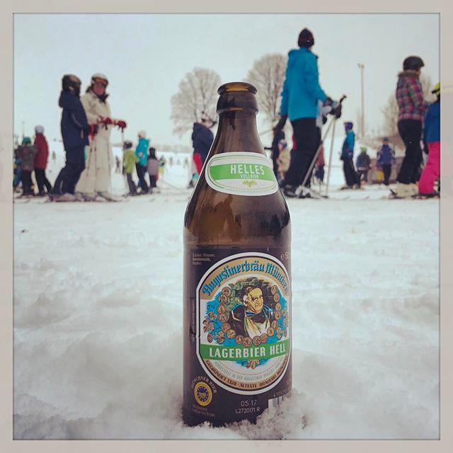 #Skifahren 13 Minuten von daheim am Monte Kienader in #Bergkirchen
