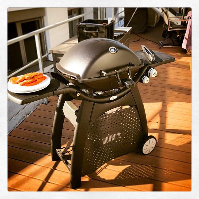 #Mittagspause #Grillen #Barbecue #Webergrill #Weber #Gräfelfing #hashtagoverkill