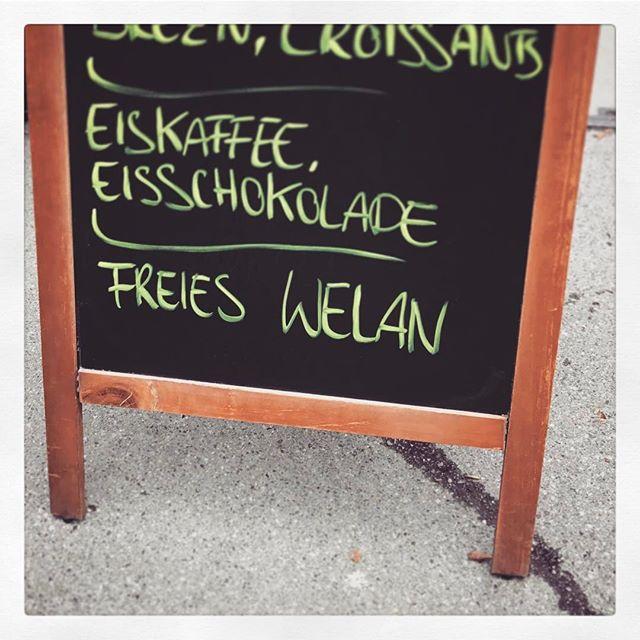 Kommt alle in den #Tierpark #Hellabrunn, da gibt es freies WELAN! ????
