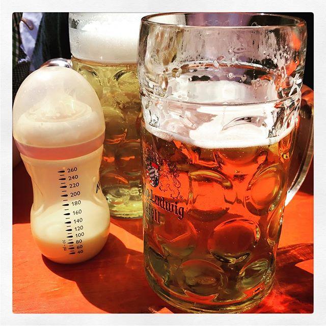 Heute am #Vatertag beim #Blütenfest in Biburg? und genossen!