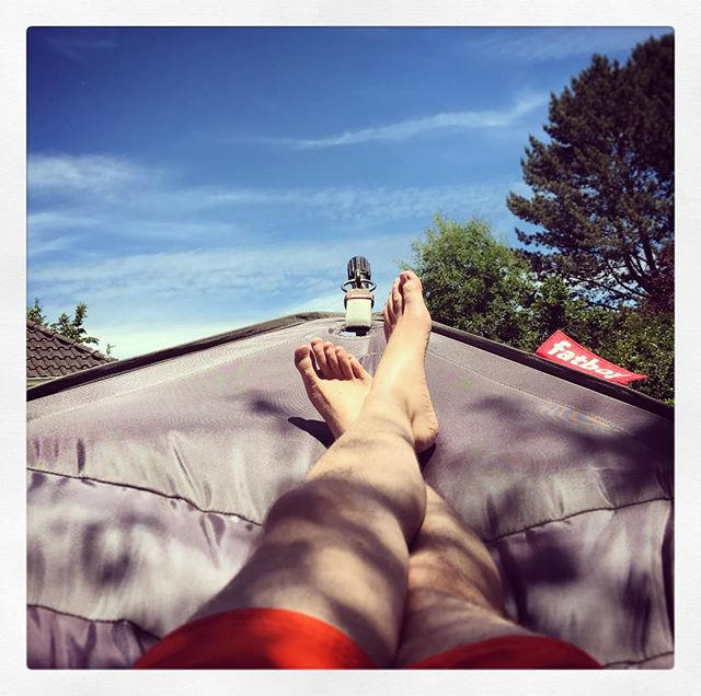 #Documenta? Nö, heute nicht - chillen in #Kassel! ????