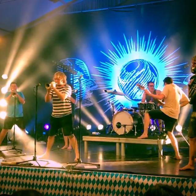 #LaBrassBanda waren am 23.8.17 auf #Bierzelttour in #Maisach - geiles Konzert!