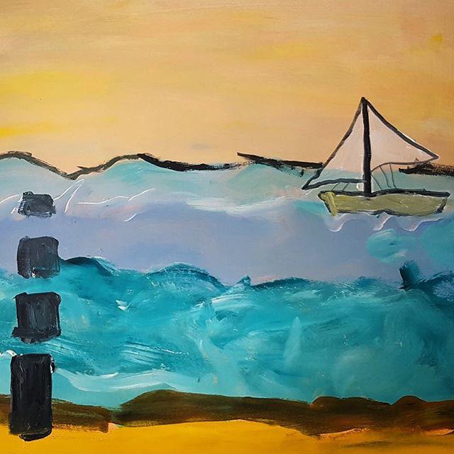 """Ich mach jetzt bald ein Kunsthandlung auf  """"Sandsend"""" by K2"""