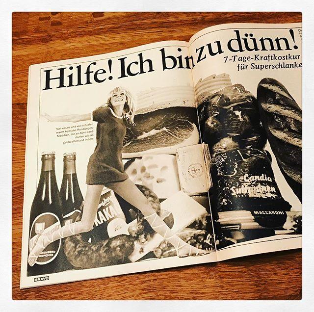 Ach, das waren noch Probleme vor fünfzig Jahren in der #BRAVO @bravomagazin (Ausgabe vom 11.9.1967)