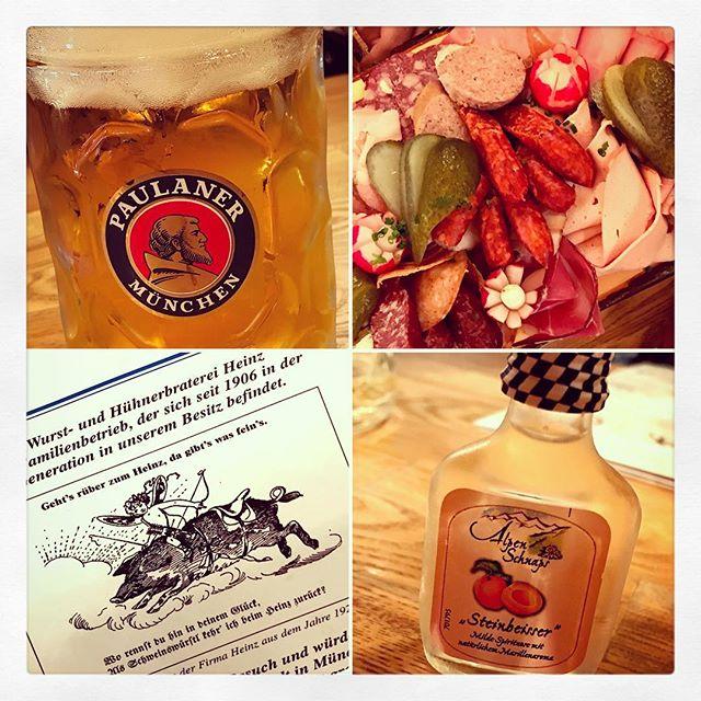 Netter Abend gestern, beim #Heinz auf der #Wiesn. #oktoberfest
