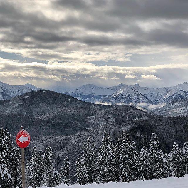 Das obligatorische #Ski-Foto am Samstag. Diesmal sind wir in #Bayern geblieben und waren in #Lenggries am #Brauneck. ?