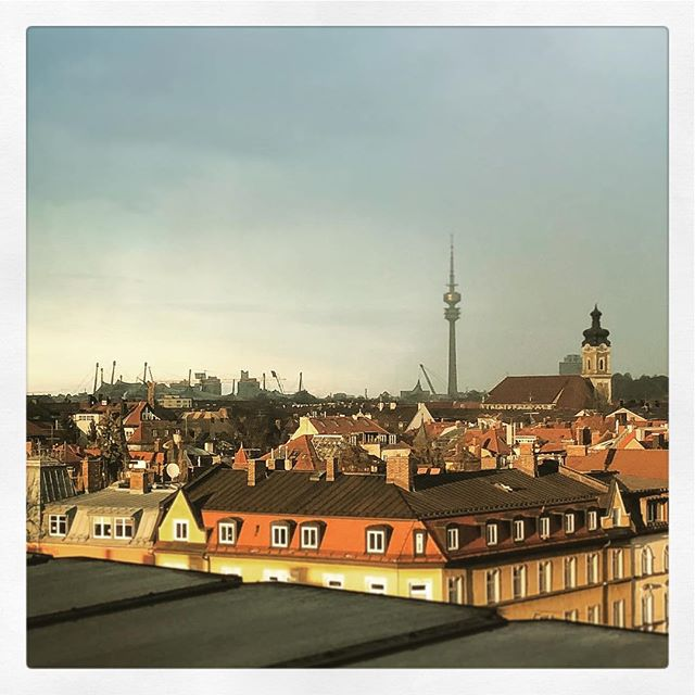 Über den Dächern von #München