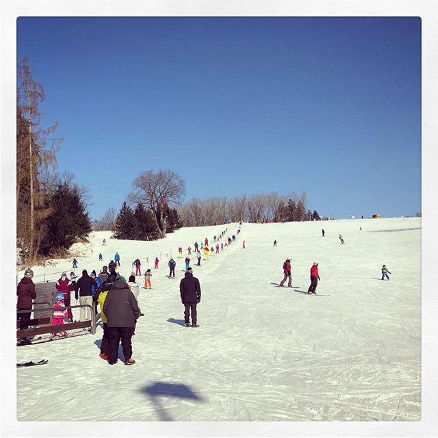 #Skifahren #Dahoam am #MonteKienader in #Bergkirchen ????