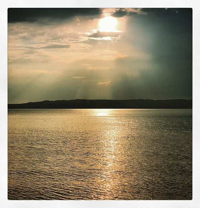 #Sunset #StarnbergerSee #HausAmSee