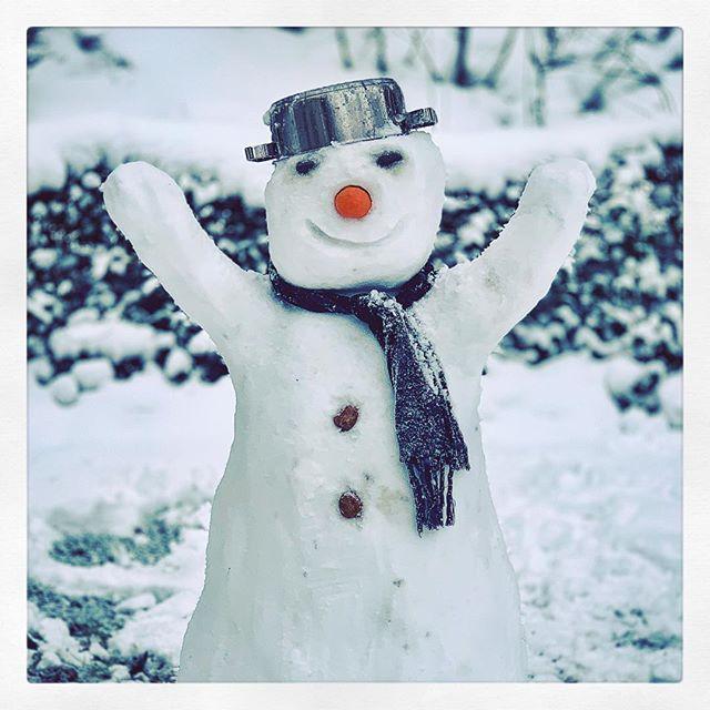 #Snowman #Schneemann ?? ?