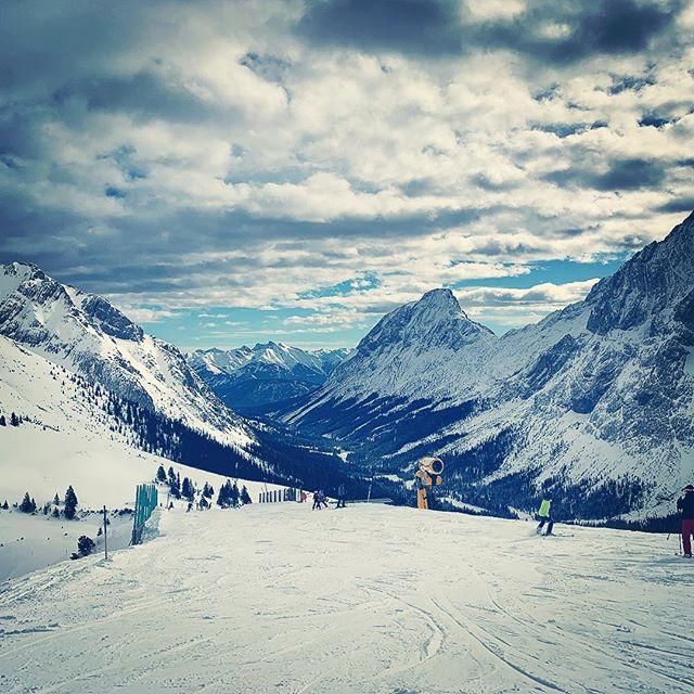 #skifahren ? #ehrwald #tirol #österreich ??