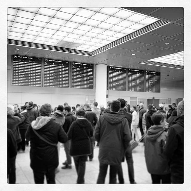 Nicht ganz so romantisch wie bei #loveactually...  #Flughafen #airport #munich