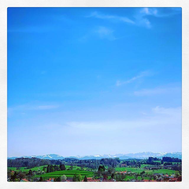 Aussicht vom Hl. Berg. ? ?  #Andechs #KlosterAndechs #Oberbayern #Bayern ?